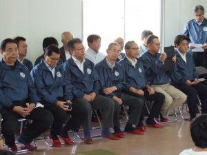 大庭会長を始め17名の会員が参加