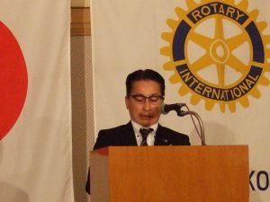 倉松雑誌委員長の「ロータリーの友」記事の紹介