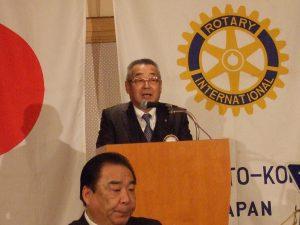 硯川会員増強地区委員からの報告