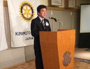 人吉ロータリークラブ60周年実行委員長