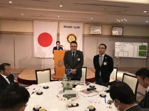 倉松スマイル副委員長からスマイル報告