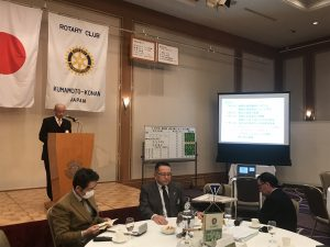 岩永戦略計画委員長から「クラブのビジョン」について