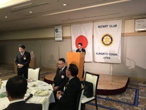 スマイル報告する倉松副委員長
