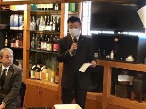 幹事報告 井戸川幹事