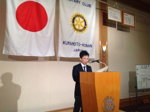 熊本市の子どもの貧困に関する実態について       卓話者 西川あきひろ