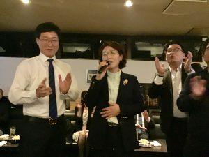 韓国語の生歌は初めてです