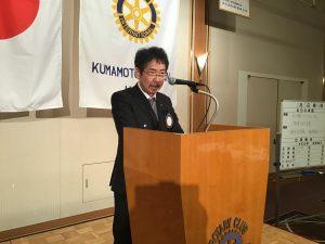 福嶌会長エレクトより次年度委員長発表