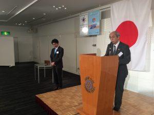 本日のご来訪者  熊本西ロータリークラブ  磯野新二会長