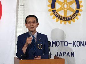ガバナーアドレス 瀧ガバナー