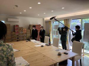 くまもと経済さん、熊日新聞さん、TKUさんに取材して頂きました。
