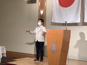 本日のソングリーダー 永村会員