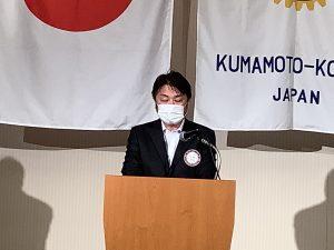 親睦活動委員会報告 本田委員長