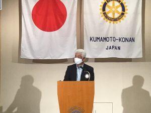 米山奨学会委員会報告   大庭委員長