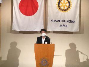 奉仕プロジェクト委員会報告    山田委員長