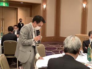 奉仕プロジェクト 山田委員長