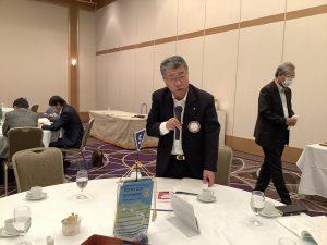 会員選考 松川委員長