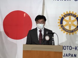 ロータリー情報委員会 増永創委員長
