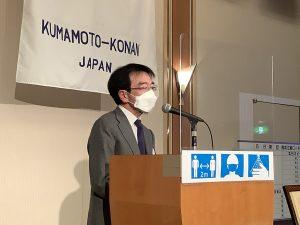 締めの挨拶 山田会長エレクト