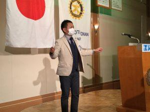 本日のソングリーダー永村会員