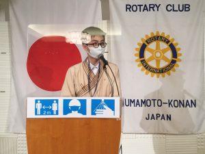米山奨学生ツォグトサイハン・テンギスボルトさん